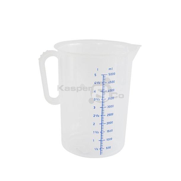 Målebægre 5 liter