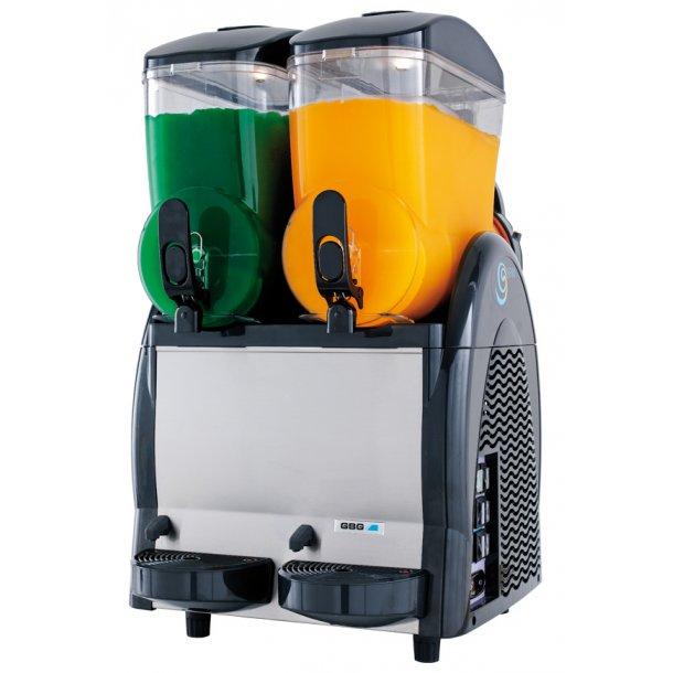 SPIN 228 Slush ice maskine m/2 beh. á 12 ltr NYHED